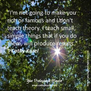 I don't teach theory